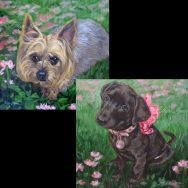 A Pair of Pet Portraits
